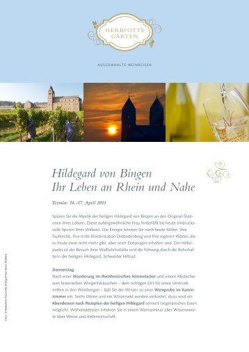 Hildegard von Bingen Ihr Leben an Rhein und Nahe - beim Reise ...