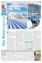 Das Reisemagazin - Recklinghaeuser Zeitung