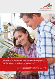 Bestandsaufnahme der Beratungsqualität im Tourismus in ...