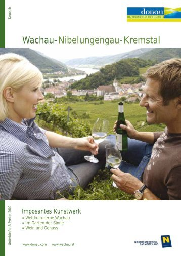 Wachau-Nibelungengau-Kremstal - Donau Niederösterreich ...