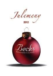 Julemeny for Porsgrunn og Skien - Becks Brasserie & Bar