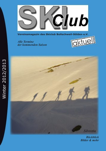 Winter 2012/2013 - des Skiclub Bollschweil Sölden eV