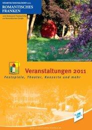 Veranstaltungskalender 2011c.indd - Romantisches Franken