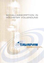 SCHALLABSORPTION IN HÖCHSTER VOLLENDUNG - Die Glunz AG