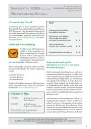 Newsletter Februar 2009.pdf - Kommentar Fassweinmarkt Pfalz