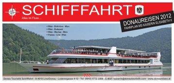 Sommerfahrplanheft 2012_NEU.indd - Donau Touristik