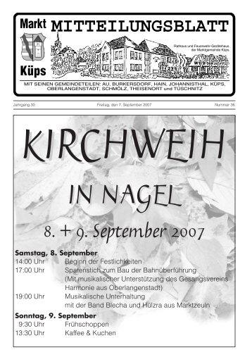 Ausgabe Nr. 36/ 2007 (811 KB) - Markt Küps