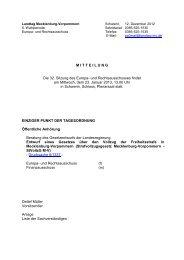 MITTEILUNG Die 32. Sitzung des Europa- und Rechtsausschusses ...