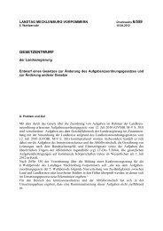 Drucksache 6/559 - Landtag Mecklenburg Vorpommern