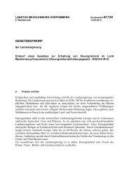 Drucksache 6/1120 - Landtag Mecklenburg Vorpommern