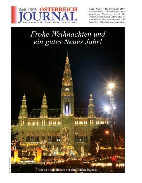 Frohe Weihnachten Slowenisch.Frohe Weihnachten Und Ein Gutes Neues Jahr Osterreich Journal