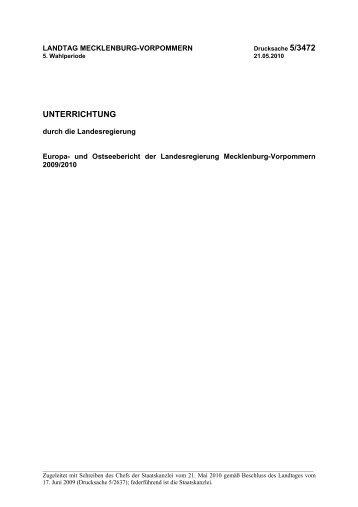 LT-Drs. 5/3472 - Landtag Mecklenburg Vorpommern