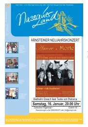 Mitteilungsblatt Ausgabe 2 - 2010 - Verbandsgemeinde Nassau