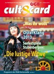 """""""Was ihr wollt"""" OsterKlang - ÖGB Kartenstelle"""