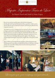 Majestic Imperator Train de Luxe - HORATIA TRAVEL