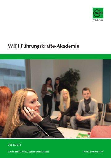 Der Folder zum Lehrgang als Download (344KB) - WIFI Steiermark
