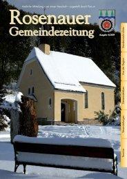 (5,80 MB) - .PDF - Rosenau am Hengstpaß - Land Oberösterreich