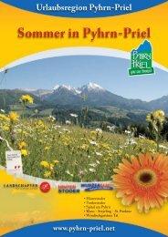 Sommer in Pyhrn-Priel