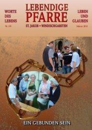 Pfarrbrief 158 - 2010 - Lebendige Pfarre - St.Jakob Windischgarsten