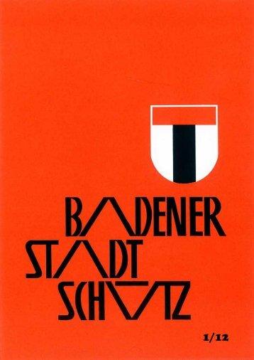 Baden ist. - Schützengesellschaft der Stadt Baden