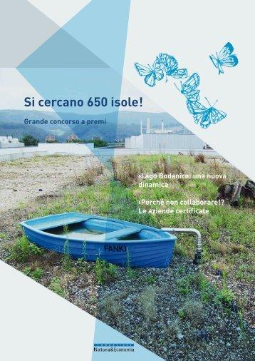 Si cercano 650 isole! - Nature & Economie