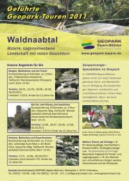Waldnaabtal - Geopark Bayern-Böhmen