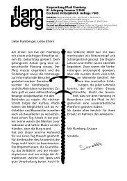 Gesamtausgabe flamberg Sommer 2/2006 ... - Pfadi Flamberg