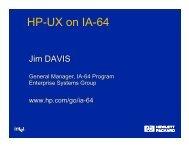 HP-UX on IA-64