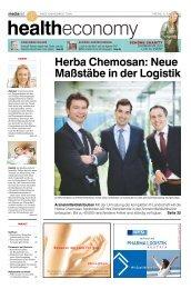 Herba Chemosan: Neue Maßstäbe in der Logistik - MediaNET.at