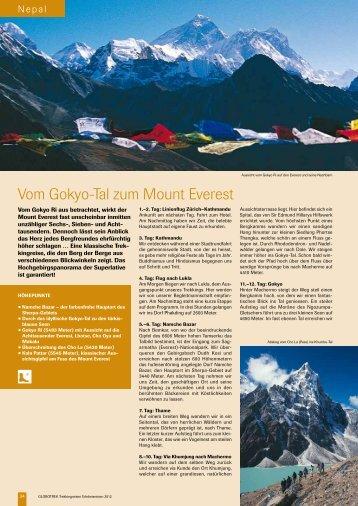 Vom Gokyo-Tal zum Mount Everest - Globotrek