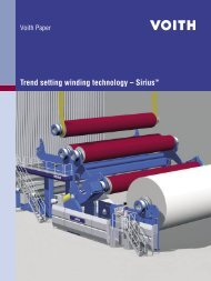 Trend setting winding technology – SiriusTM - Voith