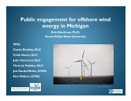 Nordman Offshore Wind - State of Michigan