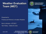 Weather Evaluation Team (WET) - RAL