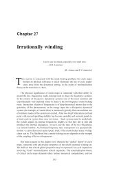 Chapter 27 - Irrationally winding - ChaosBook