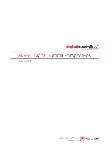 MAPIC Digital Summit Perspectives - Explore the Resource Centre