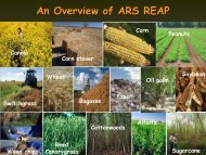 REAP - Agricultural Research Service