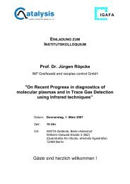 Prof. Dr. Jürgen Röpcke