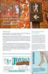 Lesen Sie unsere aktuelle Herbstbeilage als PDF - Orthopädie ...