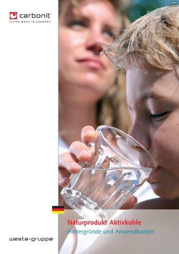Naturprodukt Aktivkohle - carbonit Filtertechnik GmbH