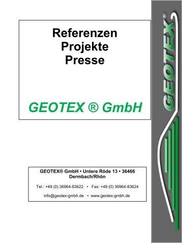 Kanal, Bach, Gruben... - Geotex GmbH
