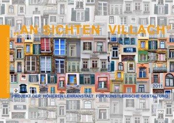 Zur Ausstellung ist ein Katalog erschienen! - CHS Villach