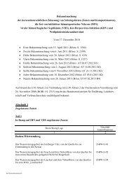 Bekanntmachung der Zulassung von Schutzgebieten, die ... - BMELV