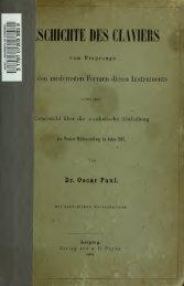 Geschichte des Claviers vom Ursprunge bis zu den modernsten ...
