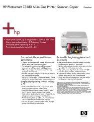 HP Photosmart C3180 All-in-One Printer, Scanner