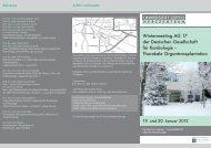 Wintermeeting AG 17 der Deutschen Gesellschaft für Kardiologie ...