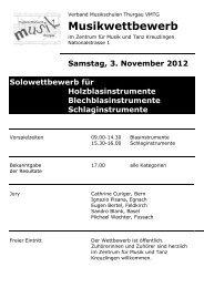 Samstag, 3. November 2012 Solowettbewerb für - Die Musikschule ...