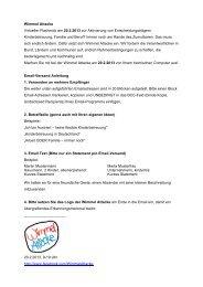 Wimmel Attacke Virtueller Flashmob am 20.2.2013 zur ... - Brigitte