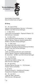 Überregional interessante Seminare - DAO Schule - Seite 2