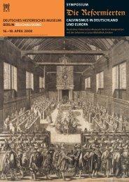 Symposium - Deutsches Historisches Museum