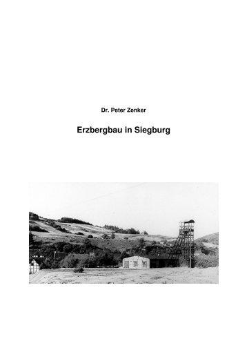 Erzbergbau in Siegburg - Dr. Peter Zenker